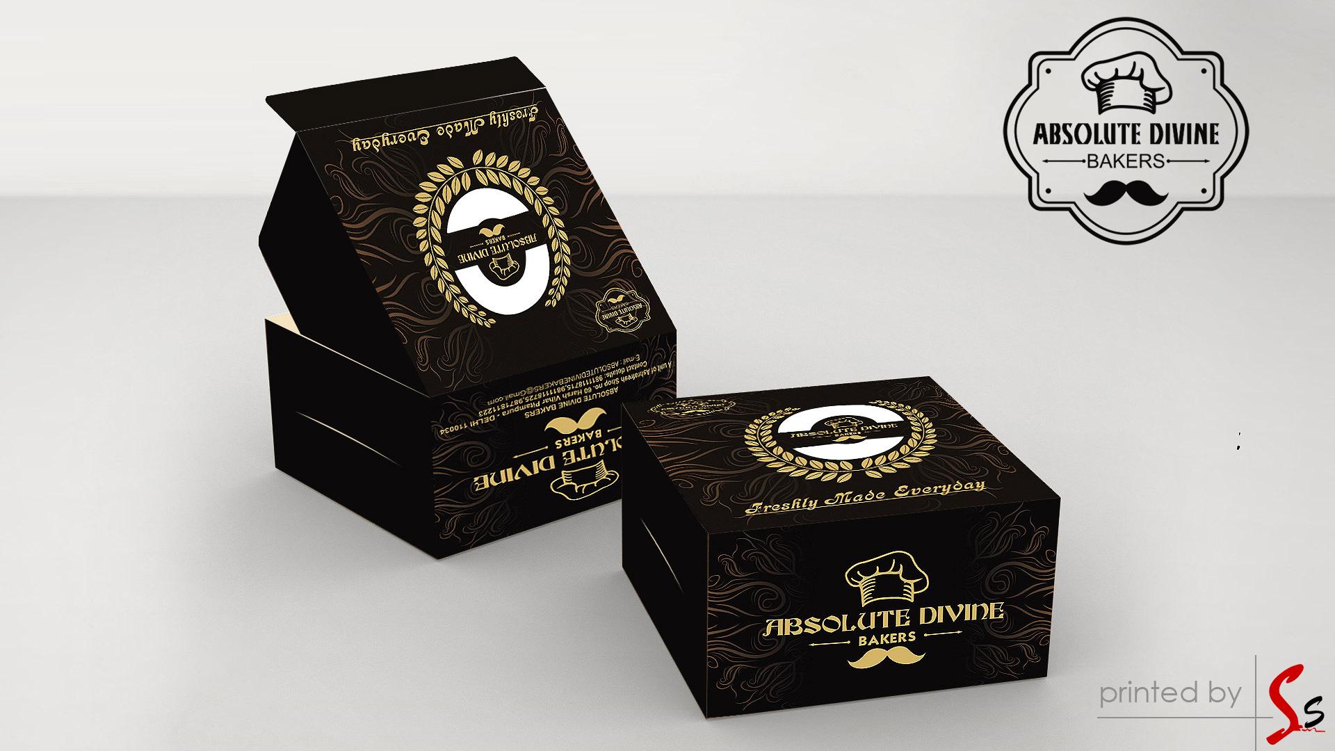Absolute Divine Cake Box