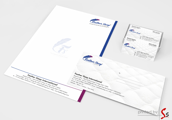 Feather Sleep Stationery Printing