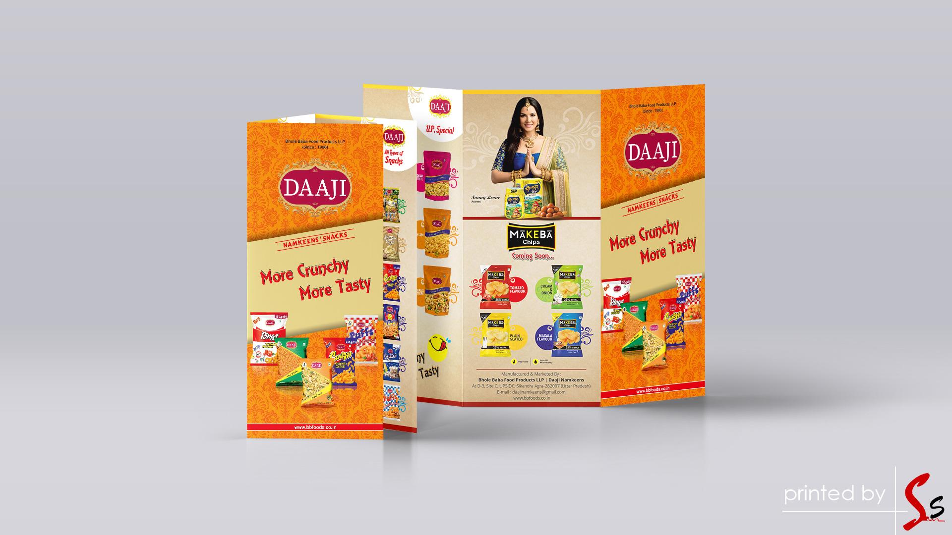 Daaji Tri Fold Brochure
