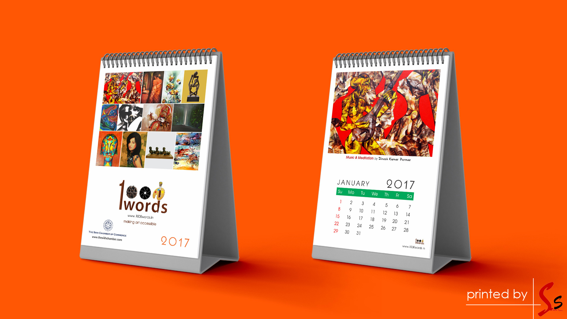One Thousand Calendar Printing