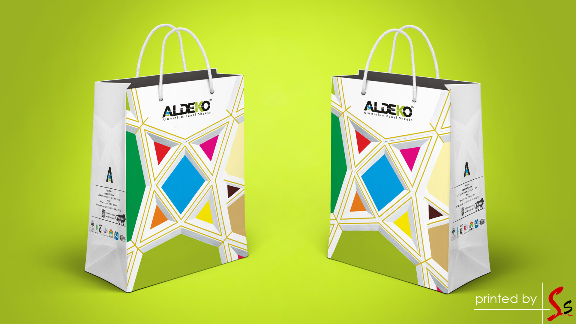 Aldeko Carry Bag Printing