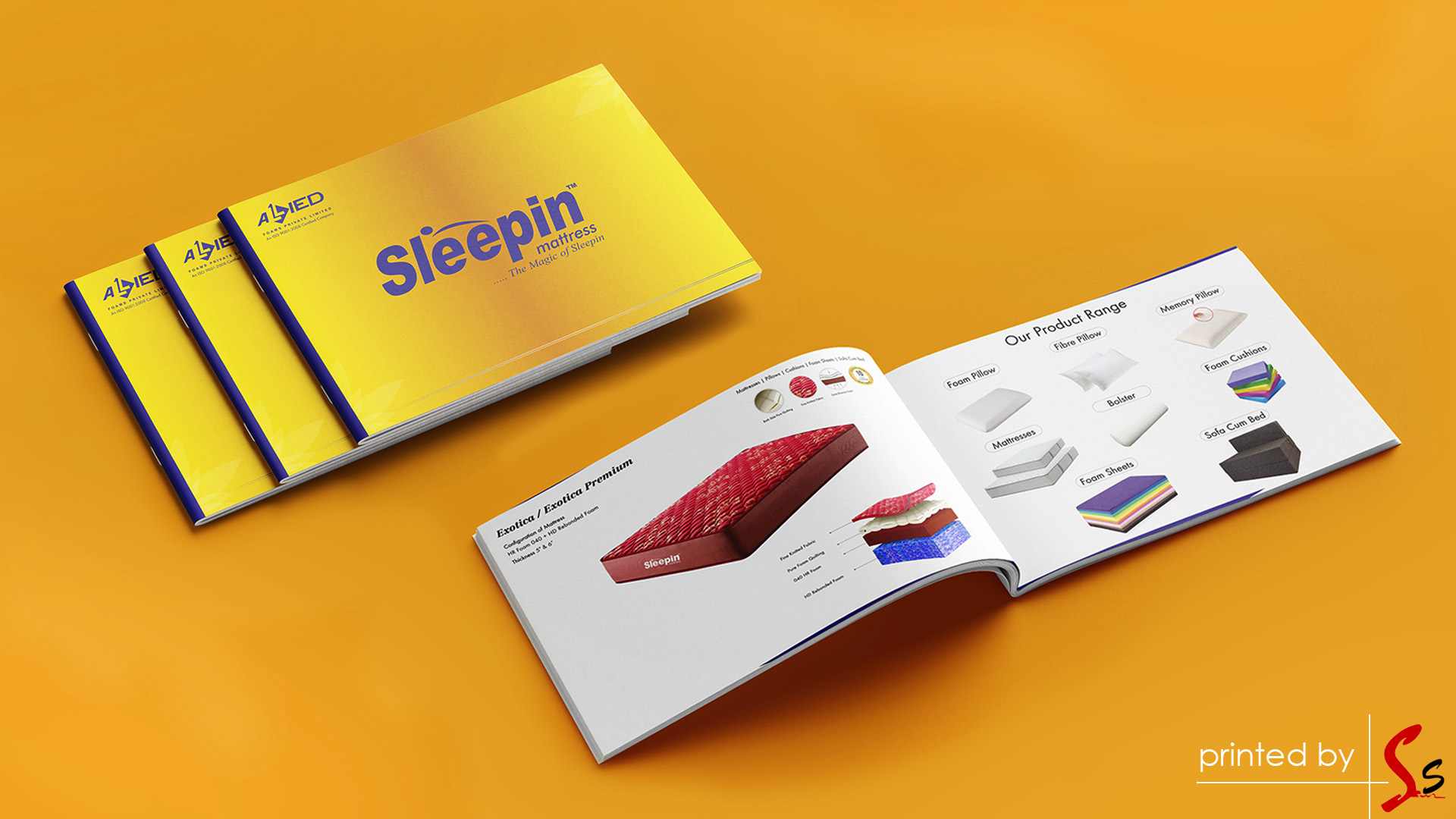 Sleepin Mattress Catalogue