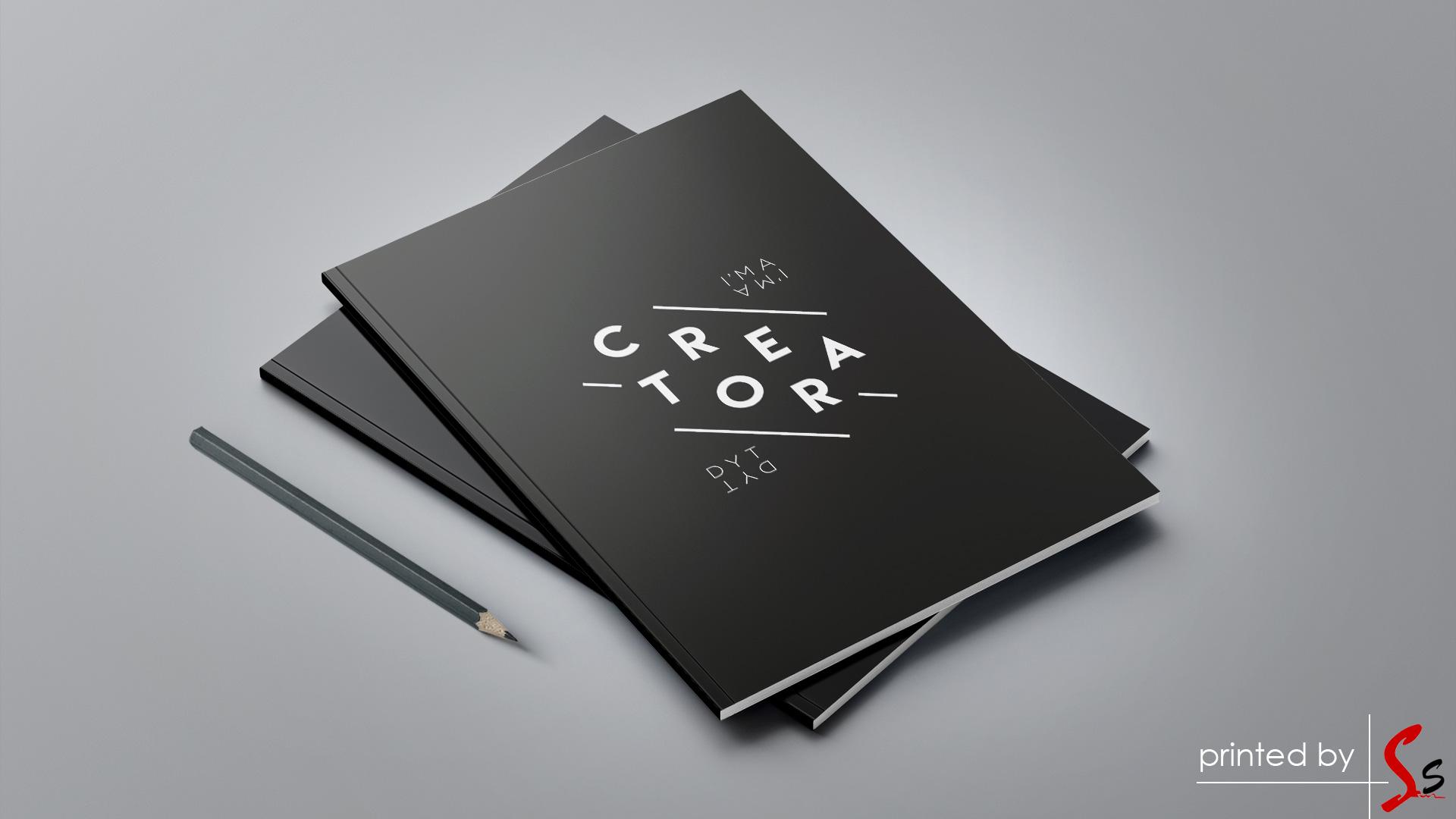 Creator Notebook Printing