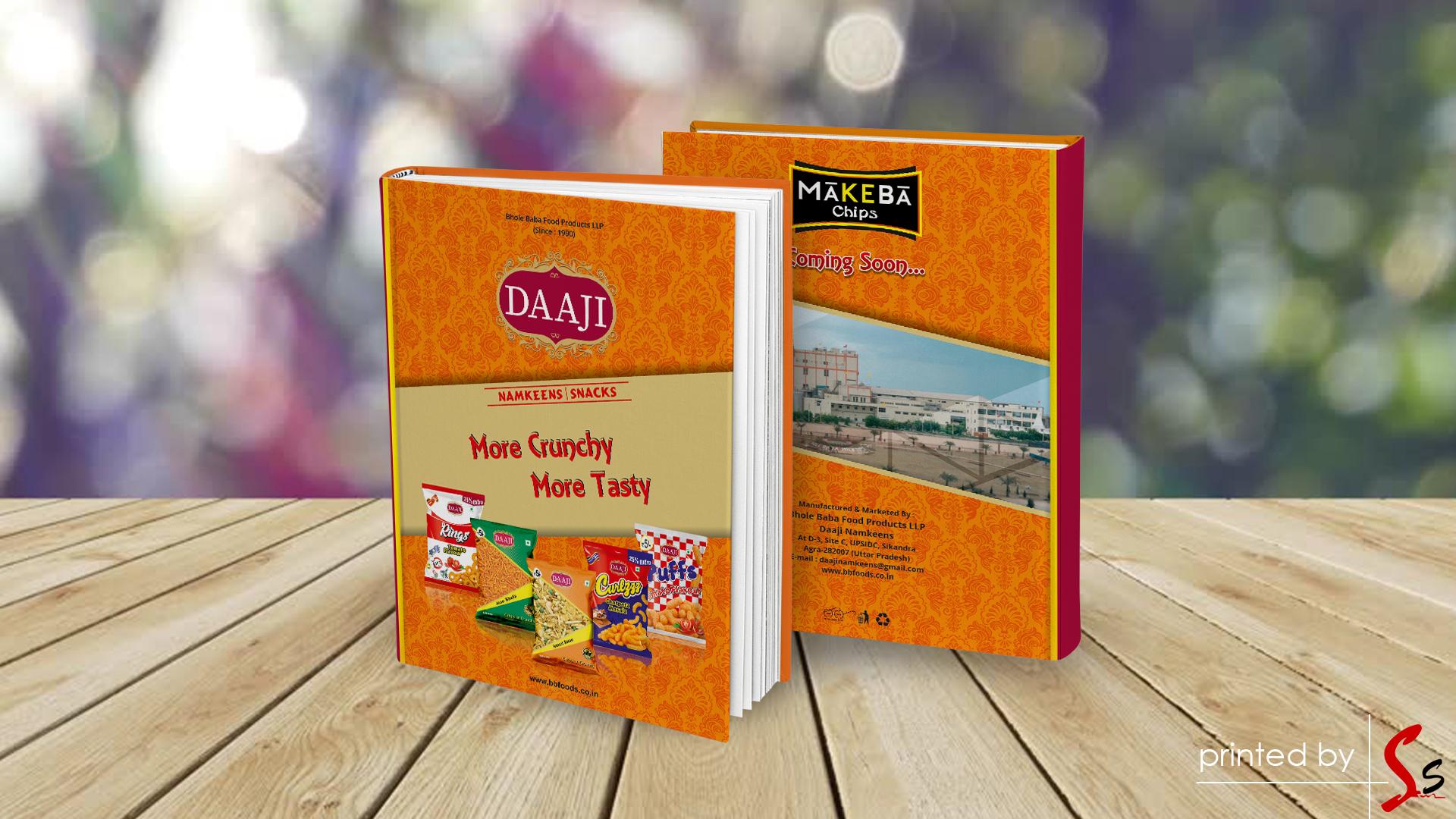 Daaji Diary Printing
