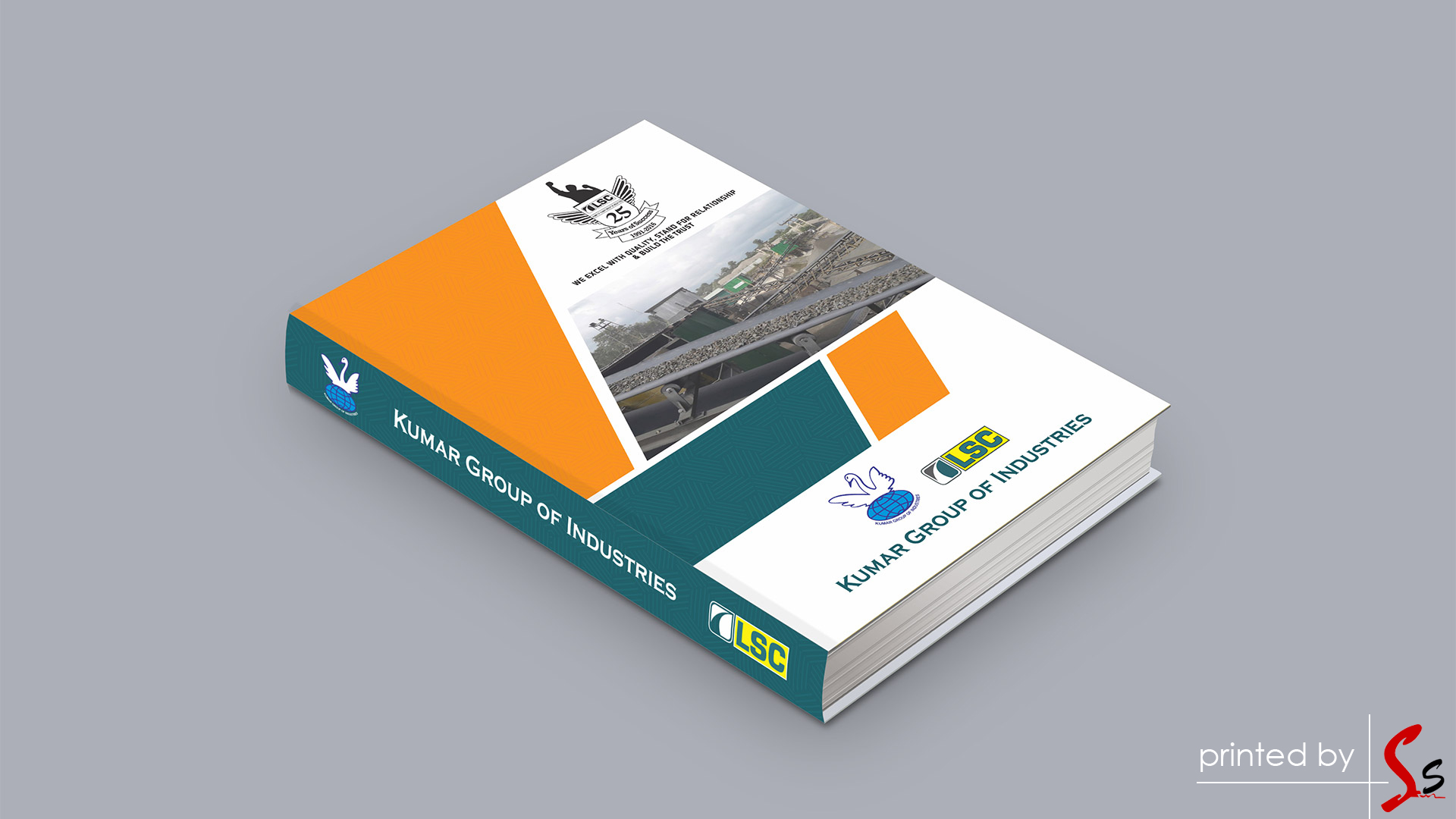 LSC-Infratech Diary Printing
