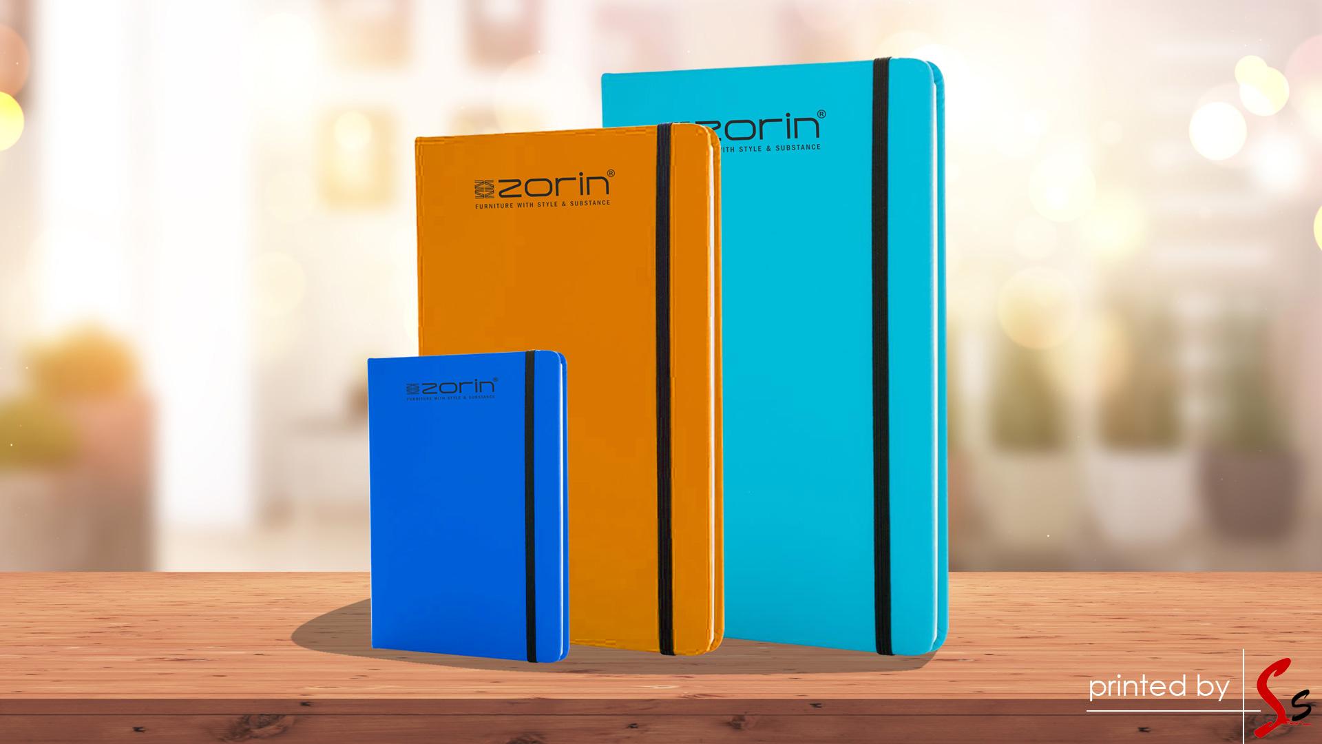 Zorin Notebook Printing