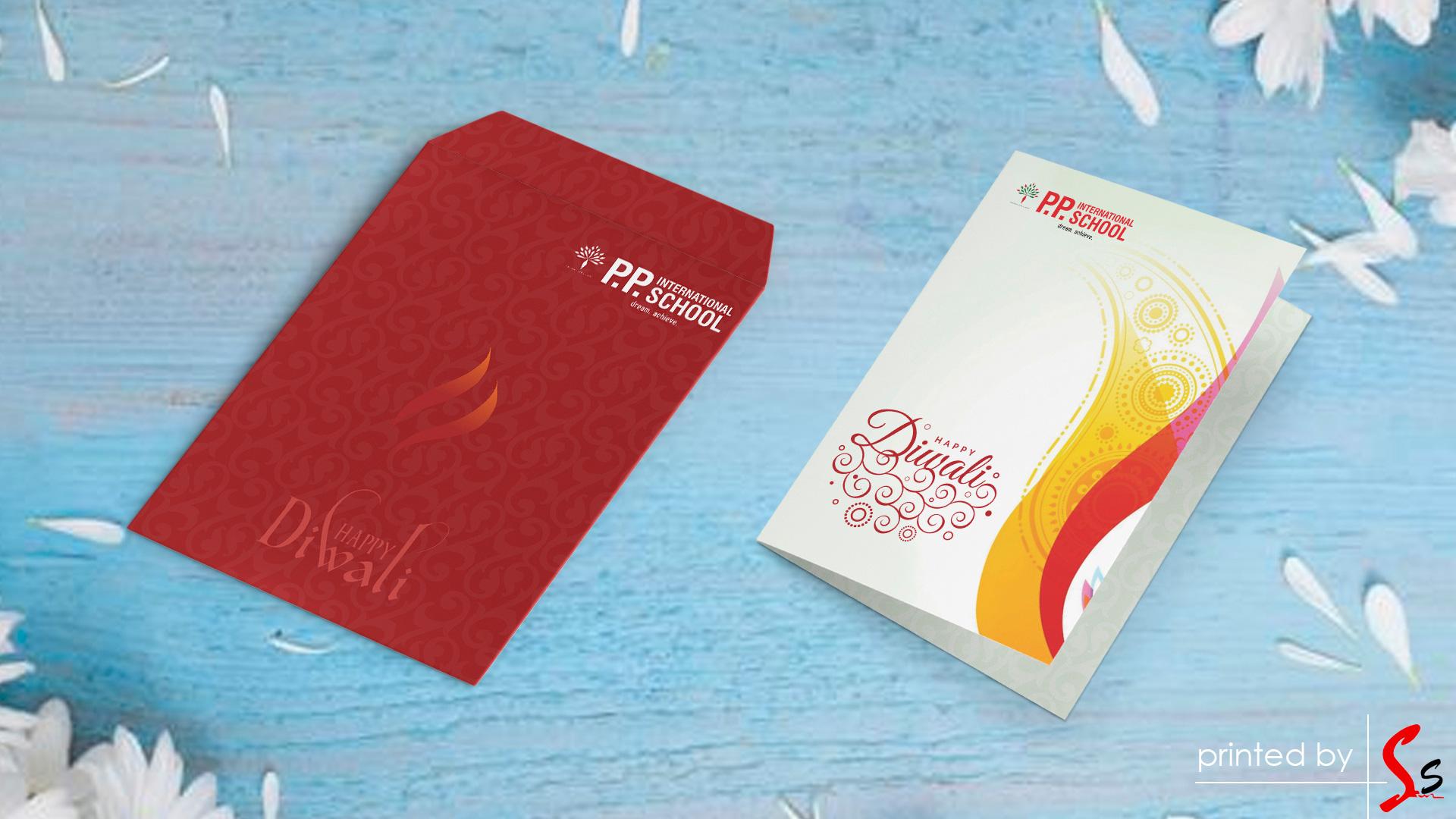 PP International School Envelop Printing