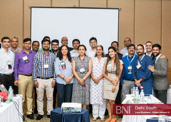 BNI Local Business Global Network South Delhi Activity