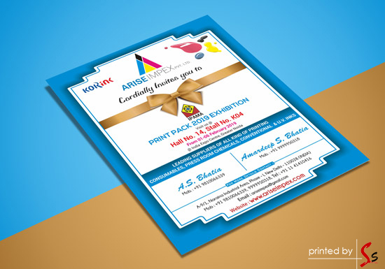 Greeting Invitation and Envelope Printing